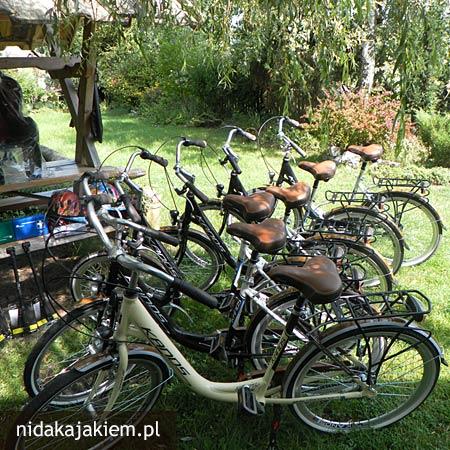 wypożyczalnia rowerów nida